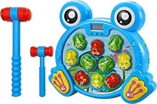 Think Gizmos - Interactive Whack A Frog Game Fun Gift for Boys & Girls of Age 3 4 5 6 7 8, Learning, Active, Early Develop...