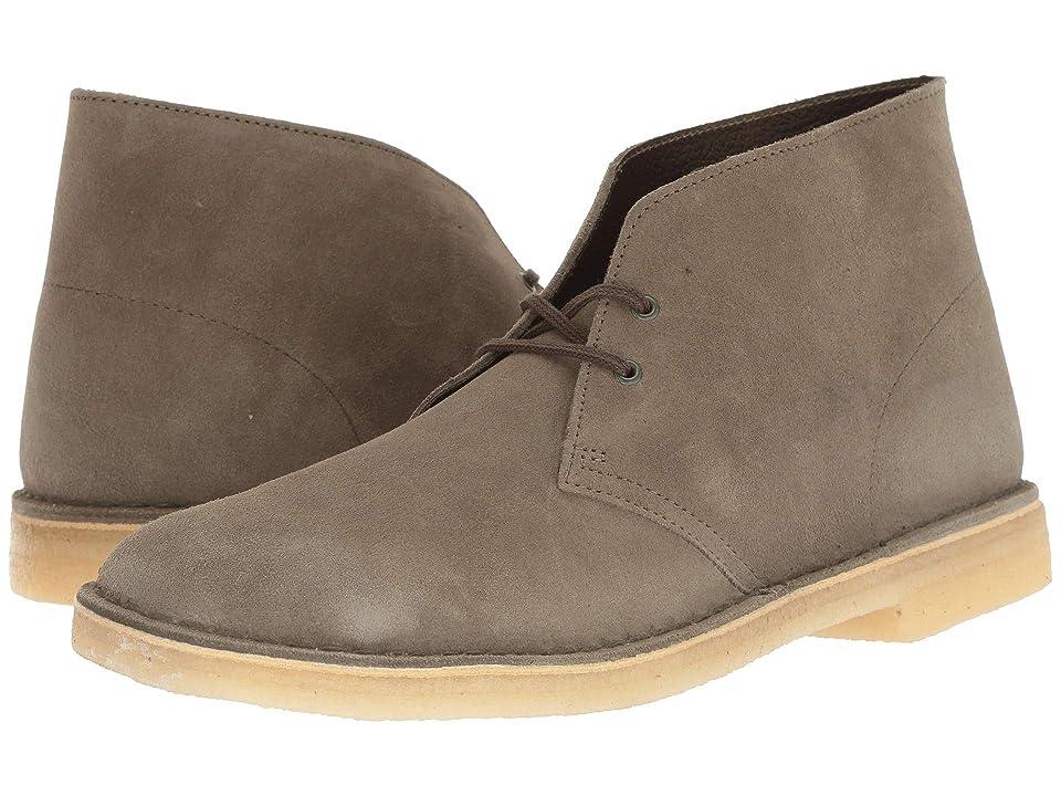 Clarks Desert Boot (Olive Suede 3) Men