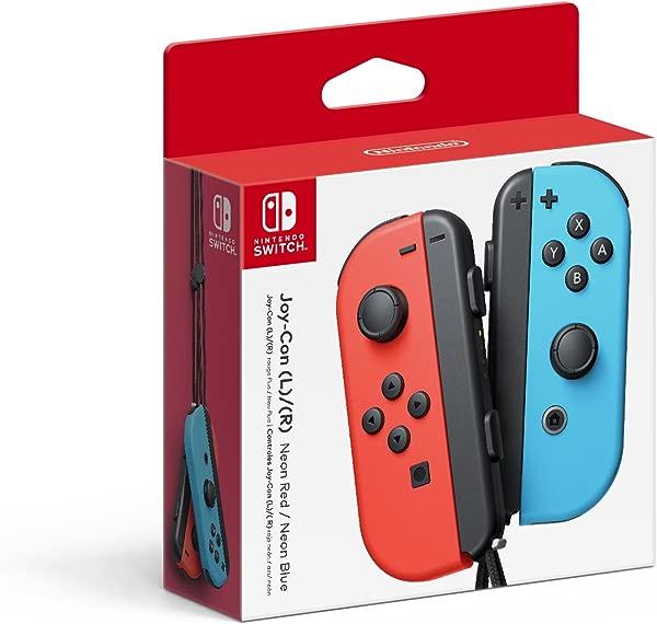 Nintendo Joy Con L R Neon Red Neon Blue