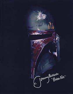 スターウォーズ ジェダイの帰還 ボバ・フェット役 ジェレミー・ブロック 直筆サイン入り写真