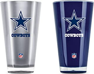 b7d79928589 NFL Dallas Cowboys 20oz Insulated Acrylic Tumbler Set of 2