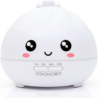 ODONOBO Cute Dumpling Essential Oil Diffuser, 300ml Cool Mist Air Humidifier, Ultrasonic Aroma Oils Vaporizer, Aromatherapy 7 LED Colored Night Light - Benny Bao Design
