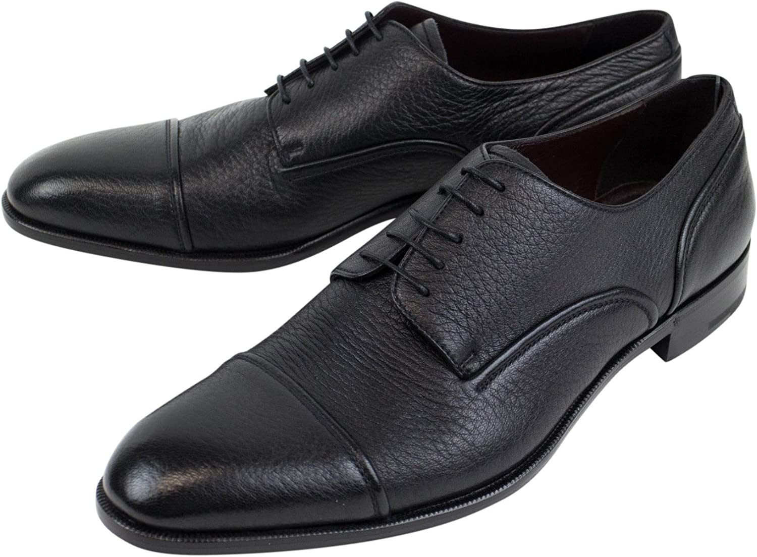 Ermenegildo Zegna 'Avenue Flex' Leather Derby Dress shoes Size 13 US 12 EU D