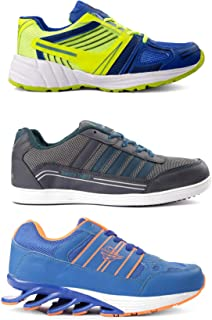 Bacca Bucci Pack of 1 Advanced Blade + 2 Sports Shoes Combo for Men.