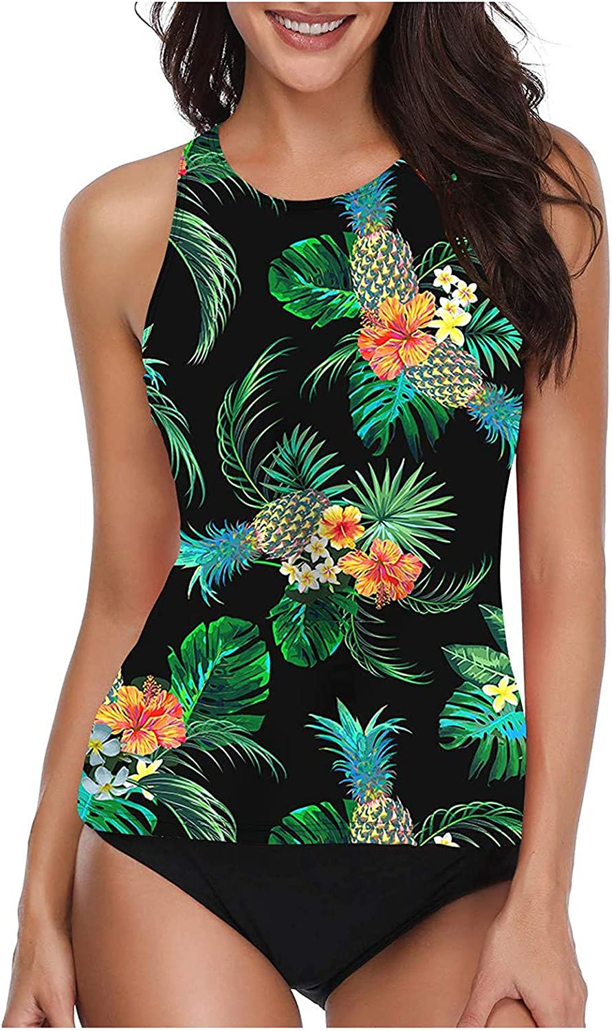 Tankini Swimsuits for Women Racerback Tank Tummy Tops Milwaukee Mall and Contor Max 70% OFF
