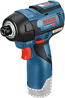 Bosch Professional 601900 GDR 12 V-EC Cordless Impact Driver (Without Battery and Charger) - Carton, 177.0 mm*54.0 mm*139....