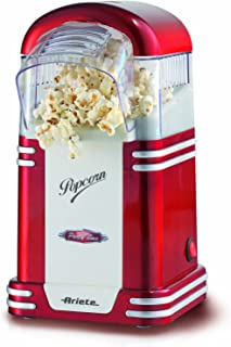 comprar comparacion Ariete Party Time Maquina de Palomitas, 1100 W, Color Rojo y Blanco