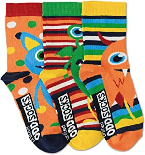 De La Marca United Oddsocks - 3 x Calcetines Desparejados Para Niño EU 26-30 (Friends)