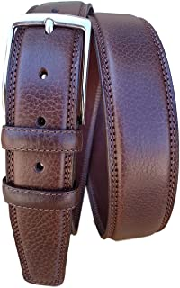 ESPERANTO Cintura alt.4 cm in vitello bottalato foderata in cuoio (3 varianti colore)