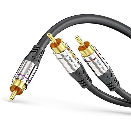 Sonero Premium Cinch Audiokabel 1x Cinch Stecker Auf Elektronik