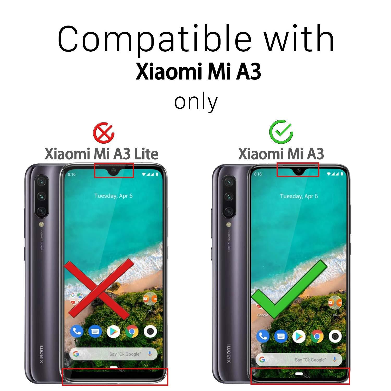 Ferilinso Funda para Xiaomi Mi A3,Elegante Armadura híbrida ...