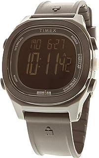 8b7347b749b1 Timex Men s Ironman Transit TW5M19000 Matte Grey Rubber Japanese Quartz  Sport Watch