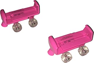Build A Bear Fuchsia Glitter Wheels Skates