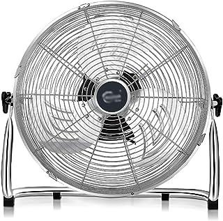 Ventilador De Escritorio EléCtrico para Industriales / 4 Velocidades Circulador De Aire Ventilador MecáNico/PortáTil Alta Velocidad/Ventilador De Pedal De Metal Completo con 3 Cuchillas De Alumin