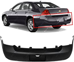 MBI AUTO - Primered, Rear Bumper Cover for 2006-2011 Chevy Impala 06-11, GM1100735