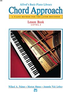 Alfred's Basic Piano Chord Approach Lesson Book, Bk
