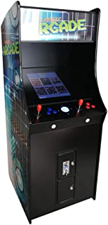 Creative Arcades Full-Size Commercial Grade Cabinet Arcade Machine | Trackball | 60 Classic Games | 2 Sanwa Joysticks | 3-Year Warranty