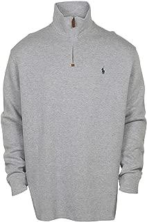 Men's Half-Zip Pima Cotton Sweater