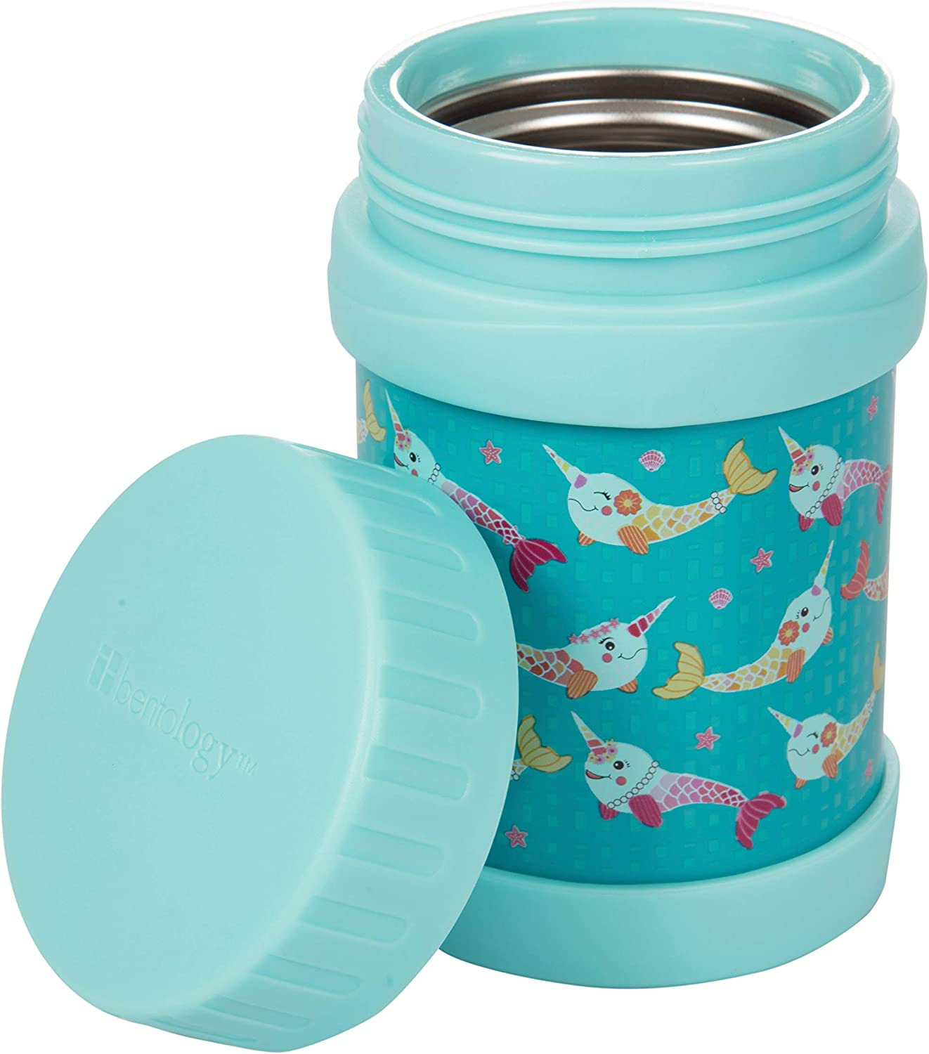 Bentology Stainless Steel Insulated Lunch 13 oz Jar for Kids âÂ