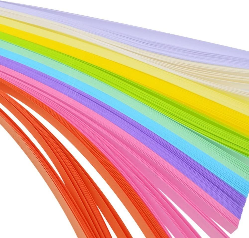 Gemischte Farben Set Papierhandwerk Faltbarer Gl/ücksstern Origami-Papier Handgemachte Home DIY Karten Geschenk Handwerk Dekoration