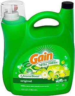 Best gain liquid 150 oz original laundry detergent Reviews