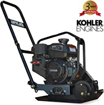 JUMPING JACK 4.5 HP Kohler Vibratory Plate Compactor Tamper for Dirt, Asphalt, Gravel, Soil Compaction
