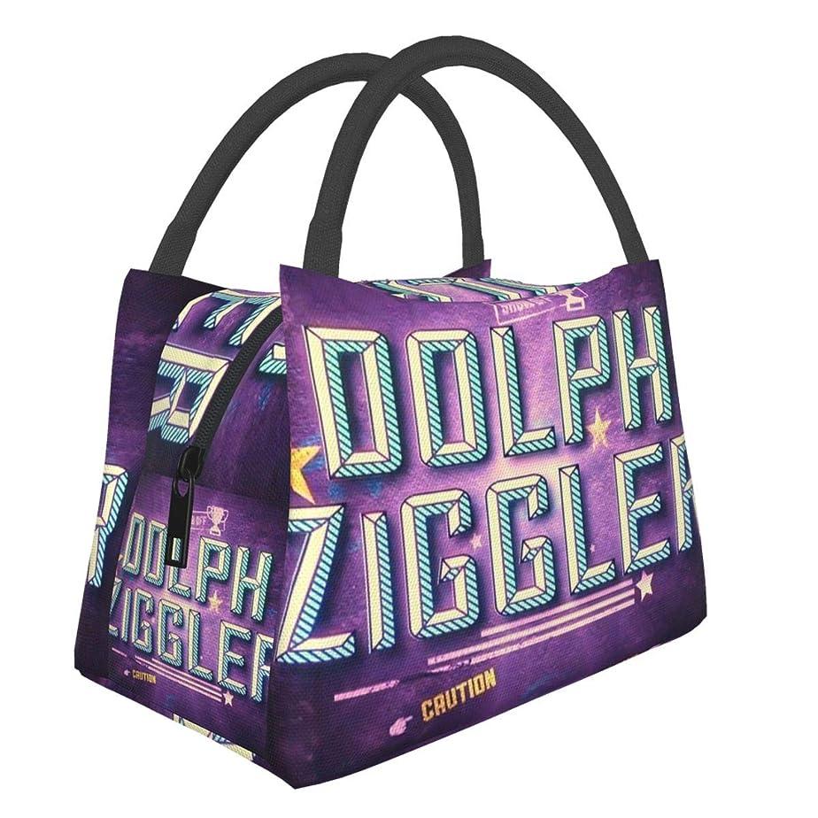 自信がある狂信者登録Wwe-Dolph Ziggler (3) ランチバッグ 保温バッグ 手提げ弁当袋 大容量 保冷 断熱 食品収納 お弁当袋 お弁当バッグ 男女兼用 おしゃれ 通勤 通学 収納便利 トートバッグ