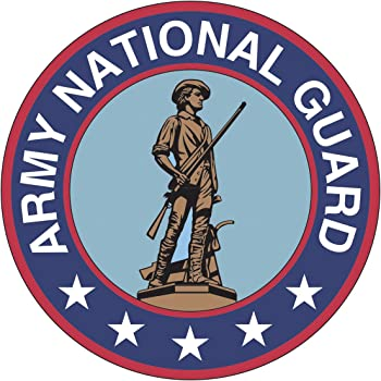 U.S Army National Guard Clear Window Strip