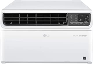 LG LW1019IVSM Energy Star 9,500 BTU 115V Dual Inverter Window Air Conditioner with Wi-Fi Control, 10000, White