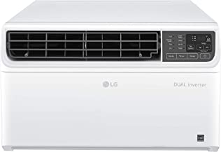 LG LW1019IVSM 9,500 BTU Dual Inverter Window Air Conditioner, 115V, Remote Control, White