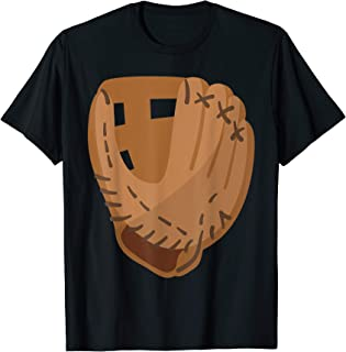 Easy Halloween Costume Idea Softball Baseball Glove T-Shirt