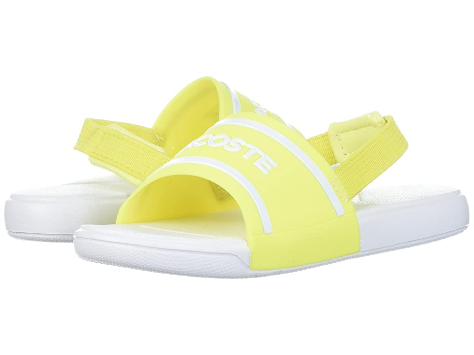 Lacoste Kids L.30 118 2 (Toddler/Little Kid) (Fluorescent Yellow/White) Kid