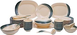 Royalford Melamine 64Pcs Melamine Dinner Set