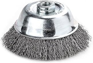 Lessmann 421.167 Pannenborstel/draadborstel   Borstel voor het ontroesten, polijsten, verwijderen van kleur, vuil of tonde...