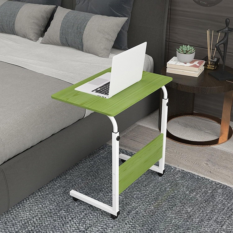 LHA Desks Folding Adjustable Laptop Table - Multiple colors, Multiple Sizes. (color   Green, Size   60cm40cm)
