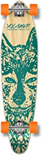 Yocaher Spirit Wolf Longboard Complete Skateboard Cruiser - Available in All Shapes