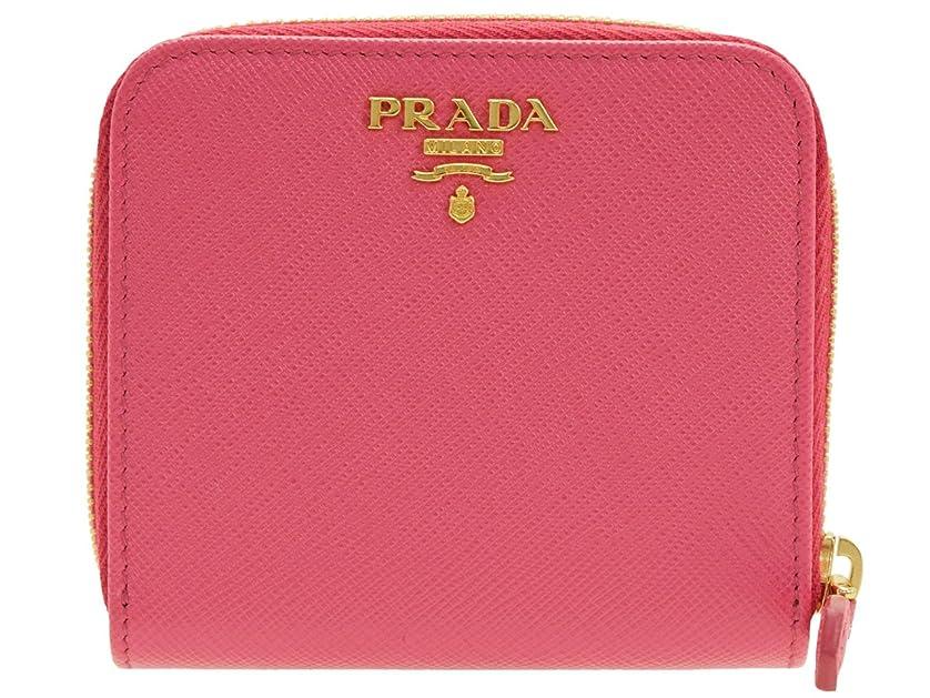 魅力的野球ブランド(プラダ) PRADA 財布 二つ折り ラウンドファスナー レザー 1ML522 [並行輸入品]