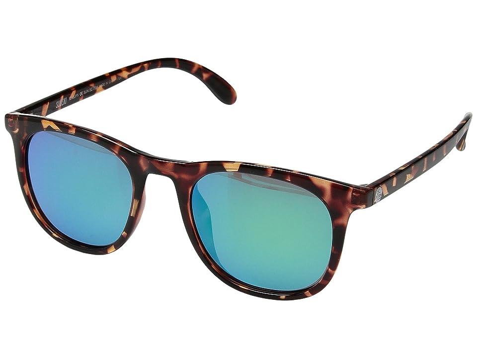9da806708c Sunski Seacliff (Tortoise Emerald) Sport Sunglasses