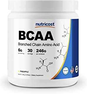 Nutricost BCAA Powder 2:1:1 (Pineapple, 30 Servings)