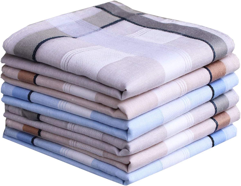 Mens 100 Cotton Handkerchiefs Soft