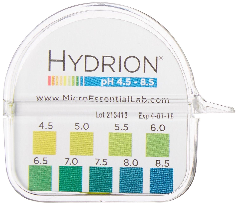 Micro Essential Lab 2210 Plastic Hydrion Vivid Short Range pH Te