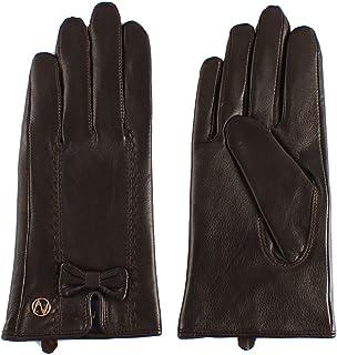 Nappaglo donne sono veri guanti in pelle nappa, autunno - inverno caldo guanti d'bownots (touchscreen o non touchscreen)