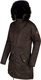 76edfd56928 Regatta Great Outdoors - Chaqueta Parka Impermeable, Transpirable u  Aislante Modelo Lucetta para Mujer (