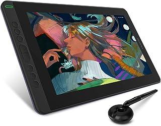 HUION Grafische tablet met scherm Kamvas 13 (violetpaars), geleverd met Pen Tech 3.0 batterijloze pen, 13,3 inch volledig ...