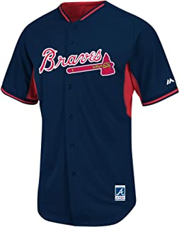 Atlanta Braves 2015 COOL BASE Batting Practice MLB Baseball Jersey