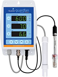 Bluelab MONGUACON Guardian Monitor Connect for pH, Temperature, and Conductivity Measures, Easy Calibration and Data Loggi...