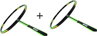 APACS Dual Power and Speed Version Badminton Racket Pair