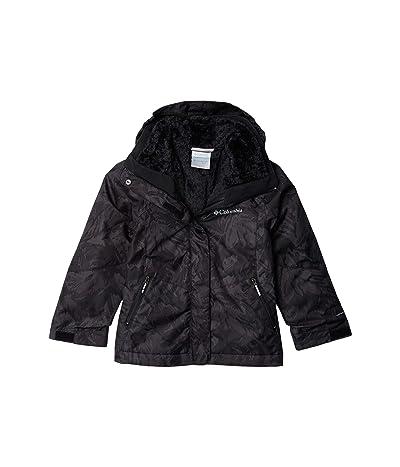 Columbia Kids Bugabootm II Fleece Interchange Jacket (Little Kids/Big Kids) (Black Leafscape Print) Girl
