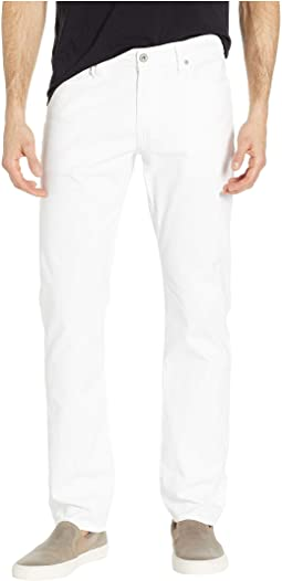 Graduate Tailored Leg SUD Sueded Stretch Sateen in White