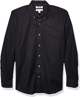 Goodthreads Camicia Oxford a Maniche Lunghe con vestibilità Standard, Comoda ed Elasticizzata, Facile da Pulire Uomo